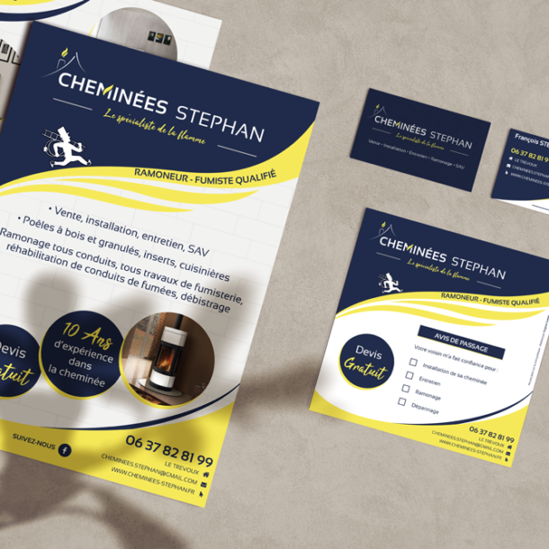 virginie-guidal-graphiste-webmaster-quimper-finistere-flyers-cheminees-stephan